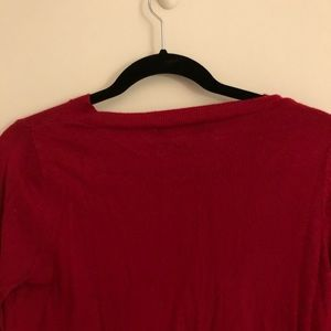 Mossimo Supply Co. Sweaters - Red v-neck sweater